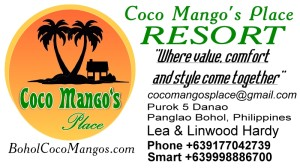 coco mangos place business card